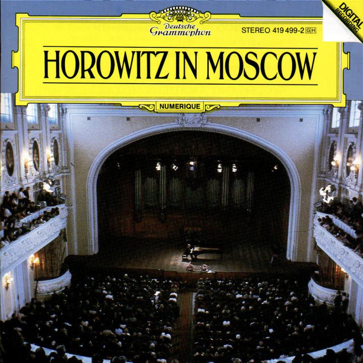Vladimir Horowitz - Horowitz in Moscow 0028941949927