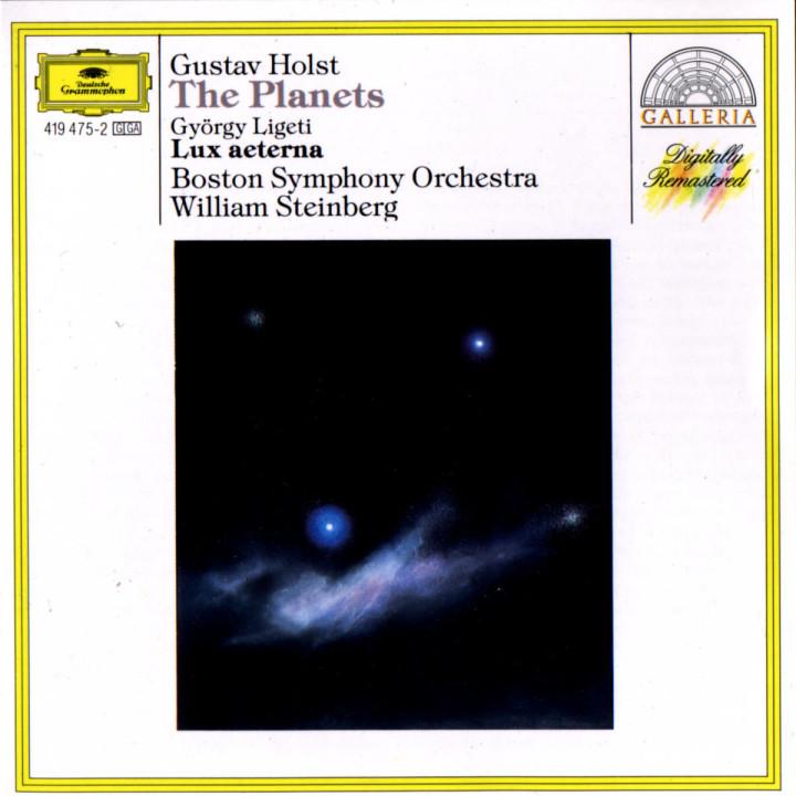 Holst: The Planets / Ligeti: Lux aeterna 0028941947523