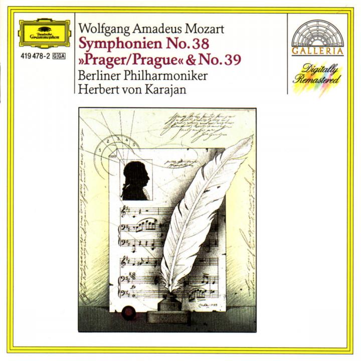 """Sinfonien Nr. 38 D-dur """"Prager"""" & Nr. 39 Es-dur 0028941947822"""