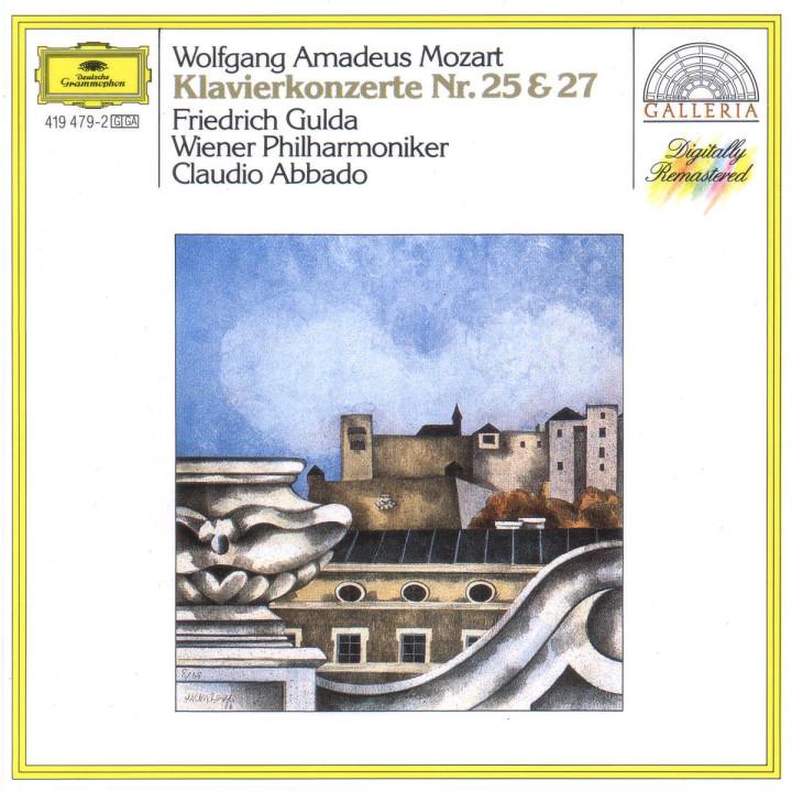 Mozart: Piano Concertos Nos.25 K.503 & 27 K.595 0028941947925