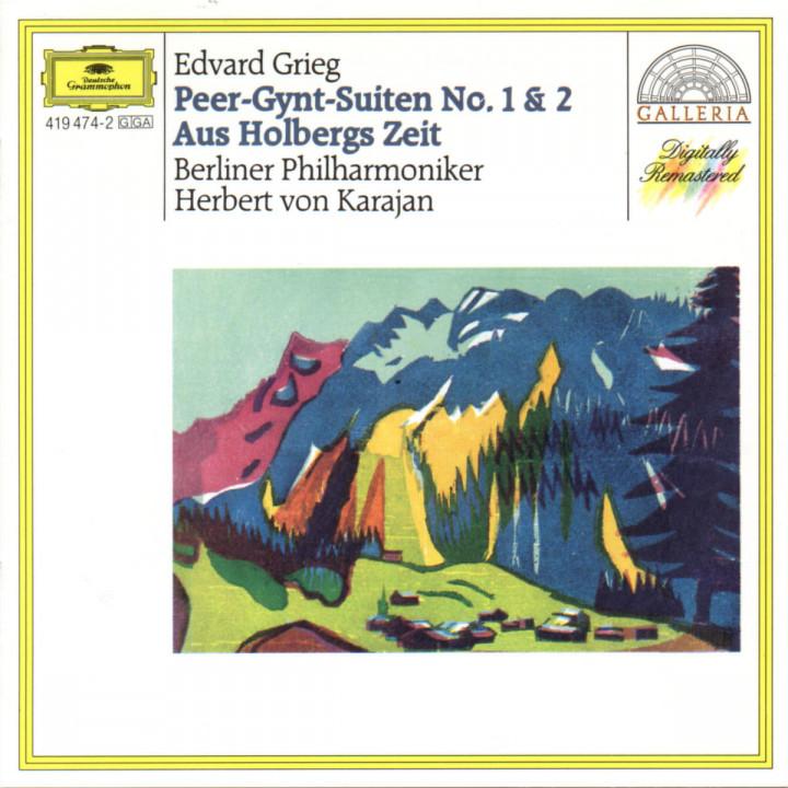 Grieg: Peer Gynt Suites Nos.1 & 2; From Holberg's Time; Sigurd Jorsalfar 0028941947420