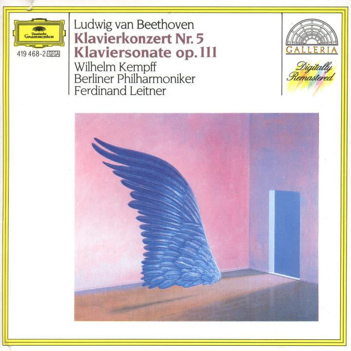 Klavierkonzert Nr. 5 Es-dur op. 73; Klaviersonate Nr. 32 c-moll op. 111 0028941946821