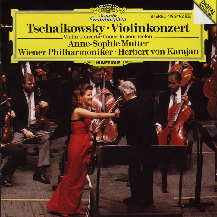 Tchaikovsky: Violin Concerto 0028941924122