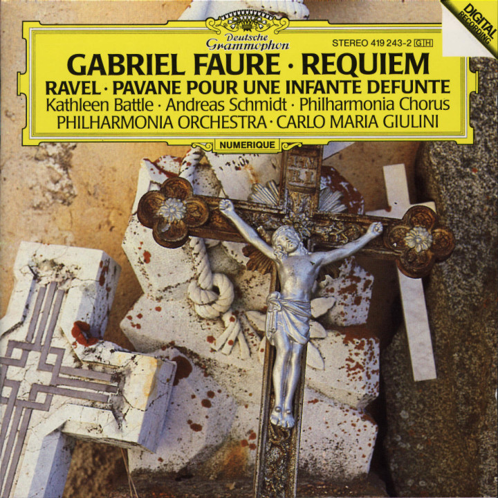 Fauré: Requiem / Ravel: Pavane pour une infante défunte 0028941924328