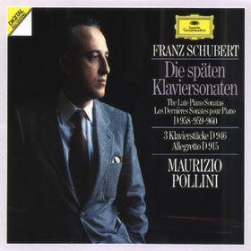 Franz Schubert, Die späten Klaviersonaten D 958-960, 00028941922922