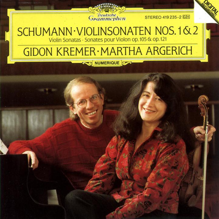 Schumann: Violin Sonatas Nos.1 & 2 0028941923523