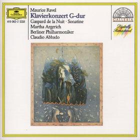 Die Berliner Philharmoniker, Ravel: Piano Concerto in G, Gaspard de la Nuit, Sonatine, 00028941906229