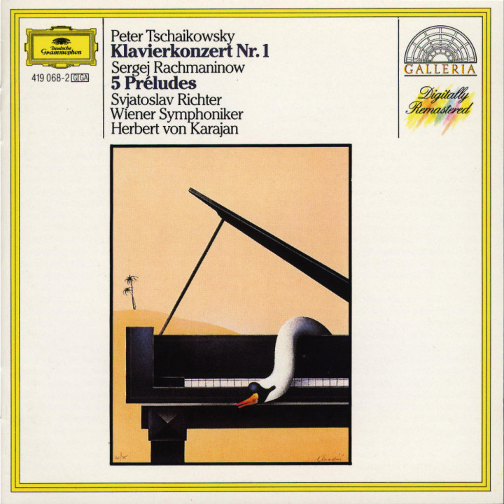 Tchaikovsky: Piano Concerto No.1 / Rachmaninov: Préludes 0028941906829