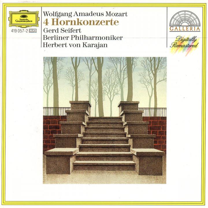 Mozart: The Horn Concertos 0028941905725