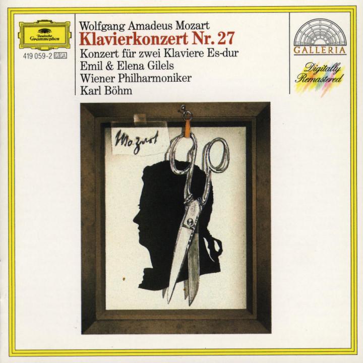 Mozart: Piano Concerto No.27; Concerto for Two Pianos K.365 0028941905921
