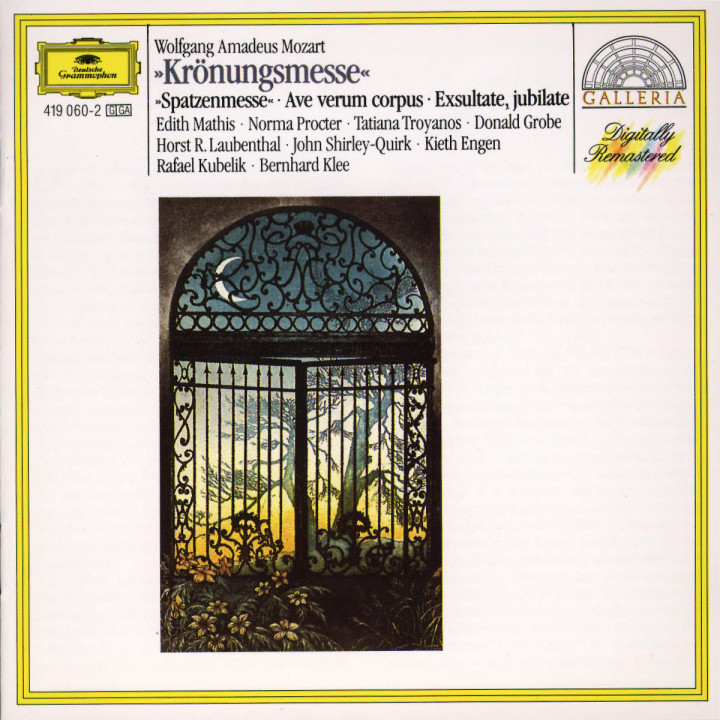 "Mozart: ""Coronation Mass""; ""Spatzenmesse""; Ave verum corpus; Exsultate, jubilate 0028941906025"