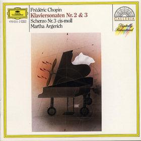 Frédéric Chopin, Klaviersonaten Nr. 2 b-moll op. 35, Nr. 3 h-moll op. 58 & Scherzo Nr. 3 cis-moll op. 39, 00028941905529
