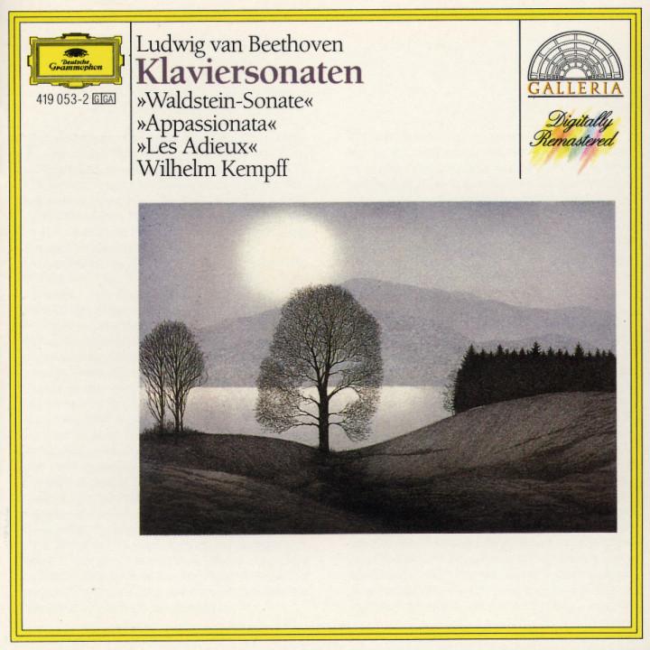 Klaviersonaten Nr. 21 C-dur op. 53, Nr. 23 f-moll op. 57, Nr. 26 Es-dur op. 81a 0028941905323