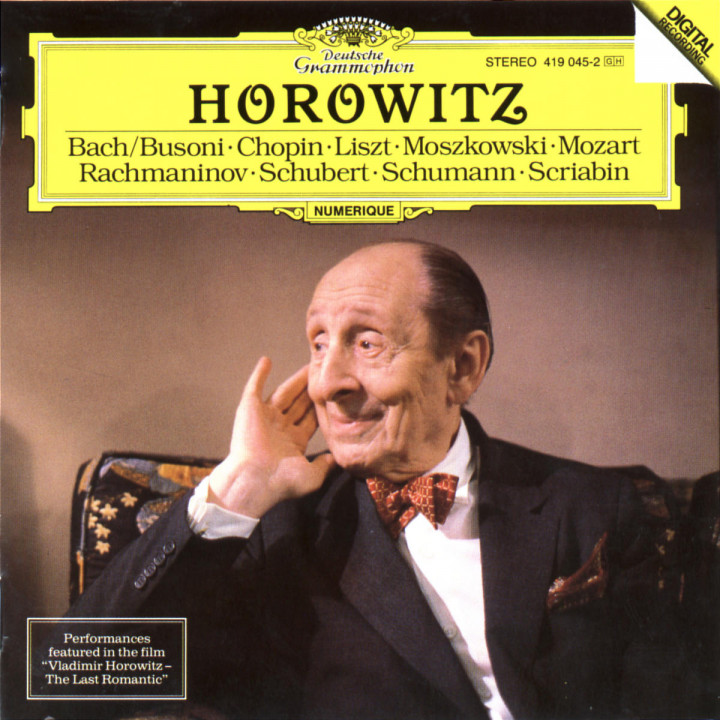 Vladimir Horowitz - The Last Romantic 0028941904528