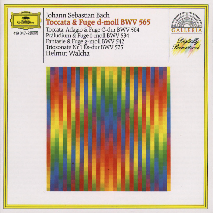 Toccata und Fuge d-moll BWV 565 0028941904724