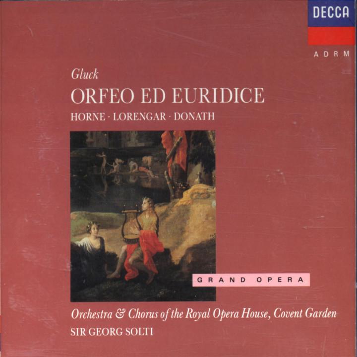 Gluck: Orfeo ed Euridice 0028941741020