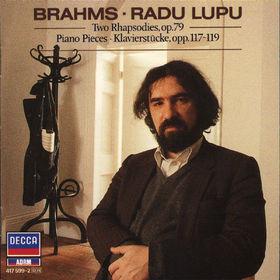 Johannes Brahms, Zwei Rhapsodien op. 79, Klavierstücke op. 117-119, 00028941759924