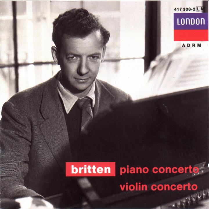 Britten: Piano Concerto; Violin Concerto 0028941730820