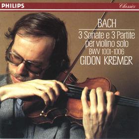 Johann Sebastian Bach, Bach, J.S.: 3 Sonatas & Partitas for Solo Violin, 00028941665126