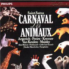 Martha Argerich, Der Karneval der Tiere, Tier-Gebete, 00028941684127
