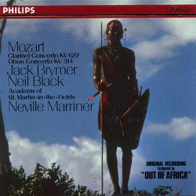 Wolfgang Amadeus Mozart, Klarinettenkonzert A-dur KV 622 & Oboenkonzert C-dur KV 314 (285d), 00028941648327