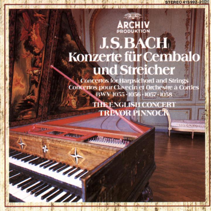 Cembalokonzerte BWV 1055 - 1058 0028941599227