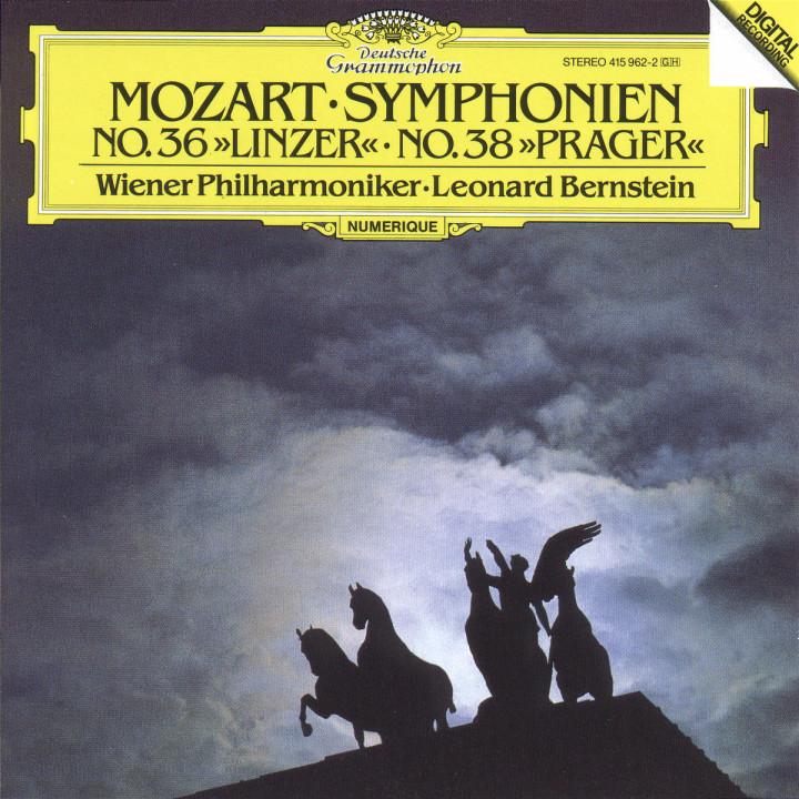 """Mozart: Symphony No.36 """"Linzer"""" & No.38 """"Prague"""" 0028941596224"""