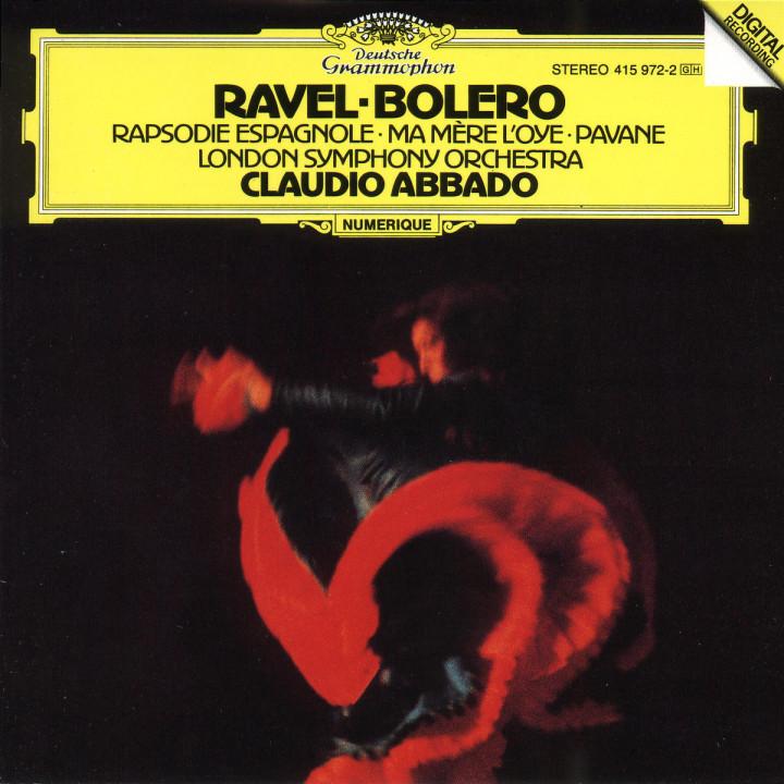 Ravel: Boléro; Ma Mère l'Oye; Rapsodie espagnole; Pavane pour une infante défunte 0028941597225