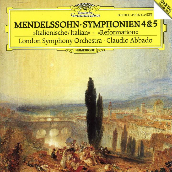 """Sinfonien Nr. 4 A-dur op. 90 """"Italienische"""" & Nr. 5 D-dur op. 107 """"Reformation"""" 0028941597421"""