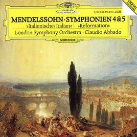 Felix Mendelssohn Bartholdy, Sinfonien Nr. 4 A-dur op. 90 Italienische & Nr. 5 D-dur op. 107 Reformation, 00028941597427
