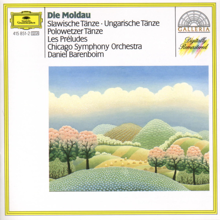 Smetana: The Moldau / Dvorák: Slavonic Dances / Brahms: Hungarian Dances / Borodin: Polovtsian Danc 0028941585127