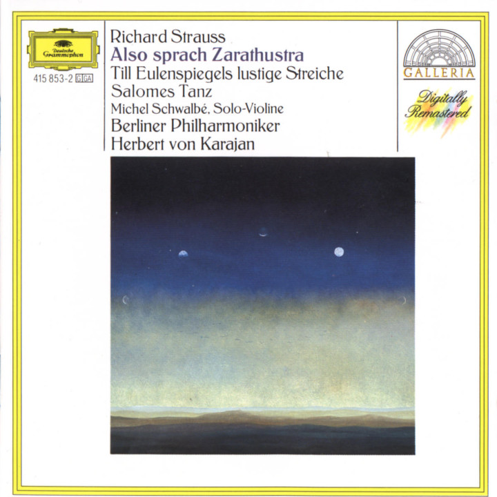 Strauss, R.: Also sprach Zarathustra; Till Eulenspiegel; Salome 0028941585323