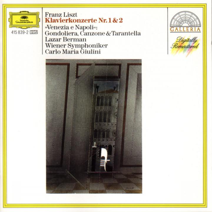 Liszt: Piano Concertos Nos. 1 & 2 / Venezia e Napoli 0028941583929