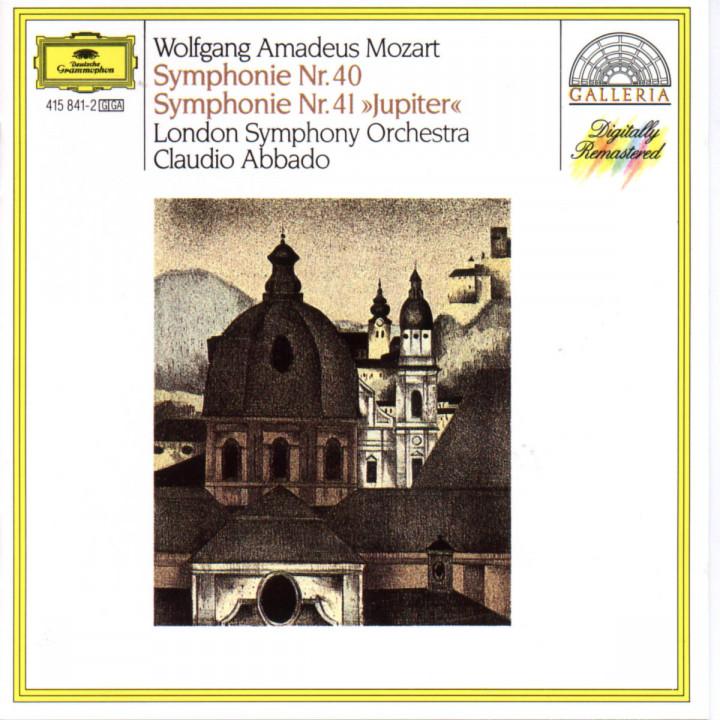 Mozart: Symphonies Nos.40 & 41 0028941584126