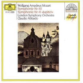 Wolfgang Amadeus Mozart, Mozart: Symphonies Nos.40 & 41, 00028941584120