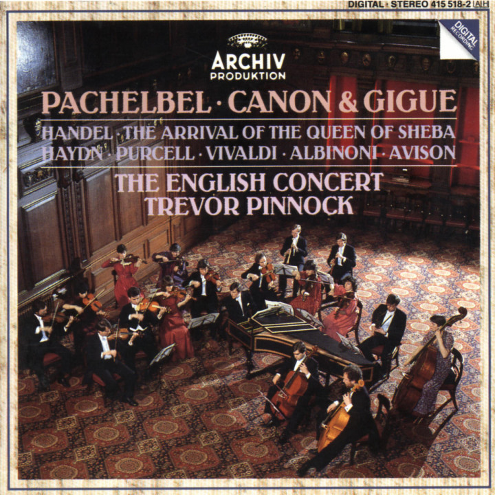 Pachelbel: Canon & Gigue / Handel: The Arrival of the Queen of Sheba 0028941551825