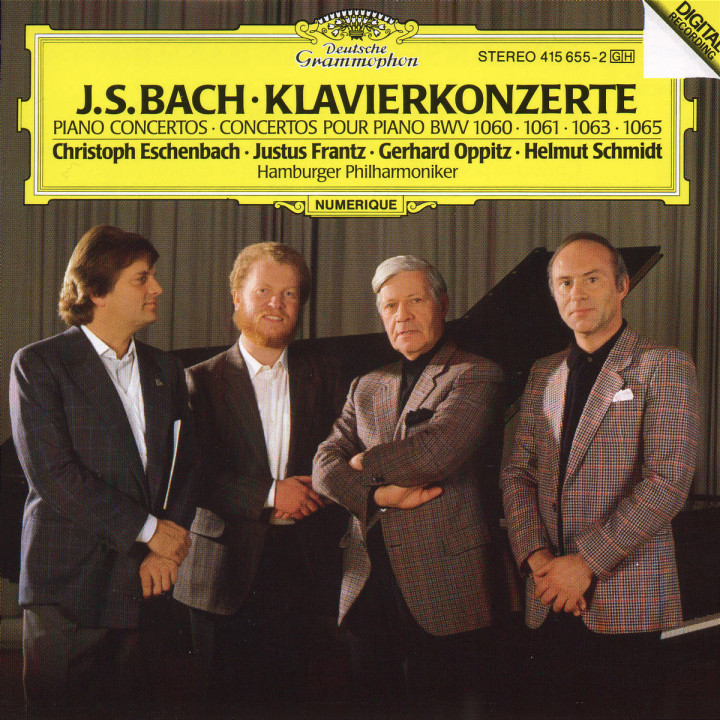 Klavierkonzerte BWV 1068, 1061, 1060, 1063