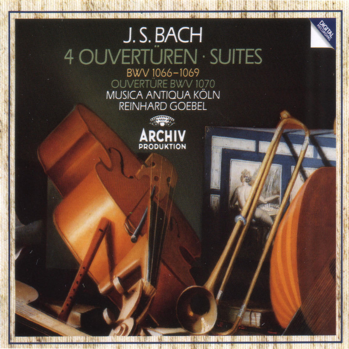 4 Ouvertüren BWV 1066-1069 0028941567123