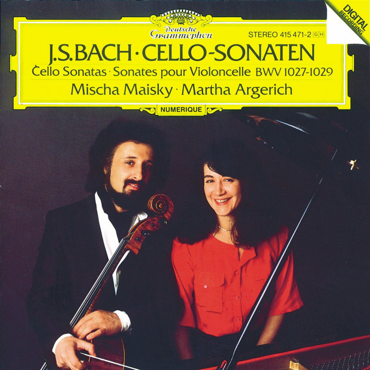 Bach, J.S.: Cello Sonatas BWV 1027-1029 0028941547127