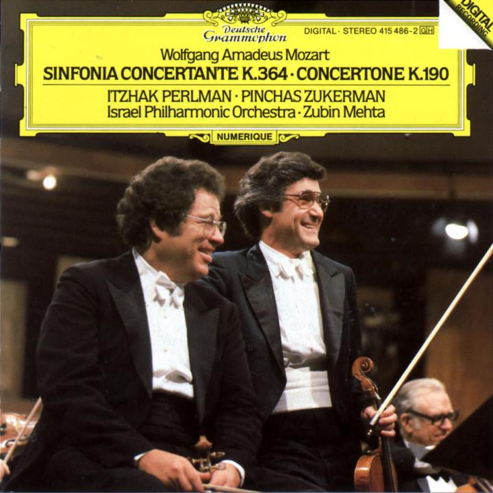 Mozart: Sinfonia concertante K.364; Concertone K.190 0028941548623