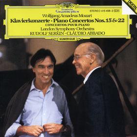Wolfgang Amadeus Mozart, Klavierkonzerte Nr. 15 B-dur KV 450&Nr. 22 Es-dur KV 482, 00028941548825