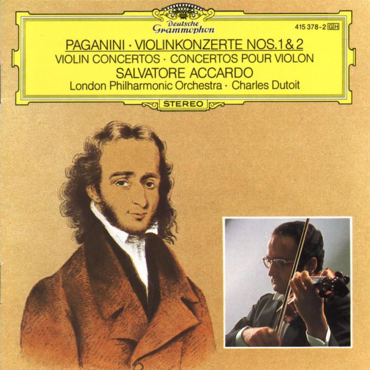 Paganini: Violin Concertos Nos.1 & 2 0028941537825