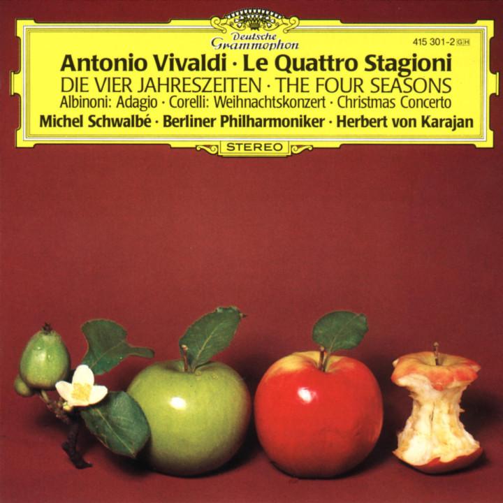 Adagio g-moll; Weihnachtskonzert; Die vier Jahreszeiten 0028941530127