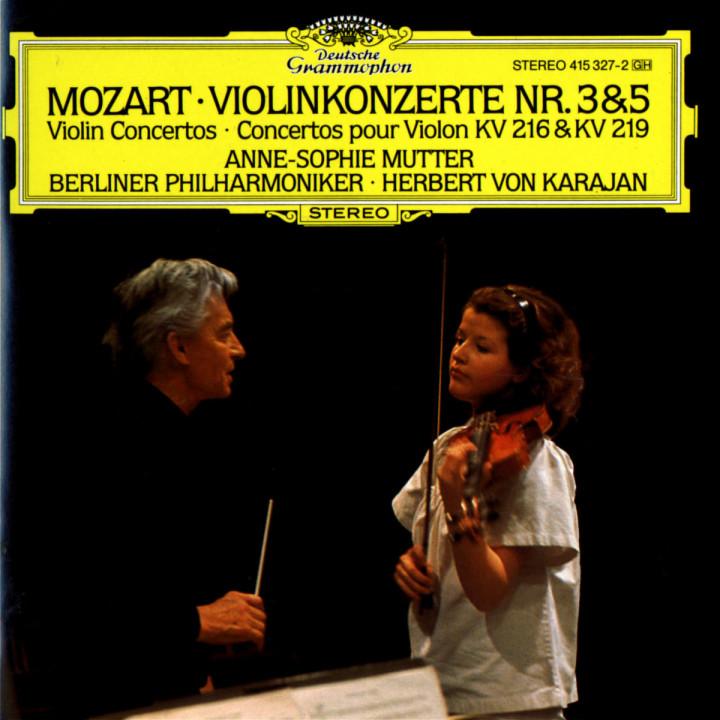 Mozart: Violin Concertos Nos.3 & 5 0028941532727