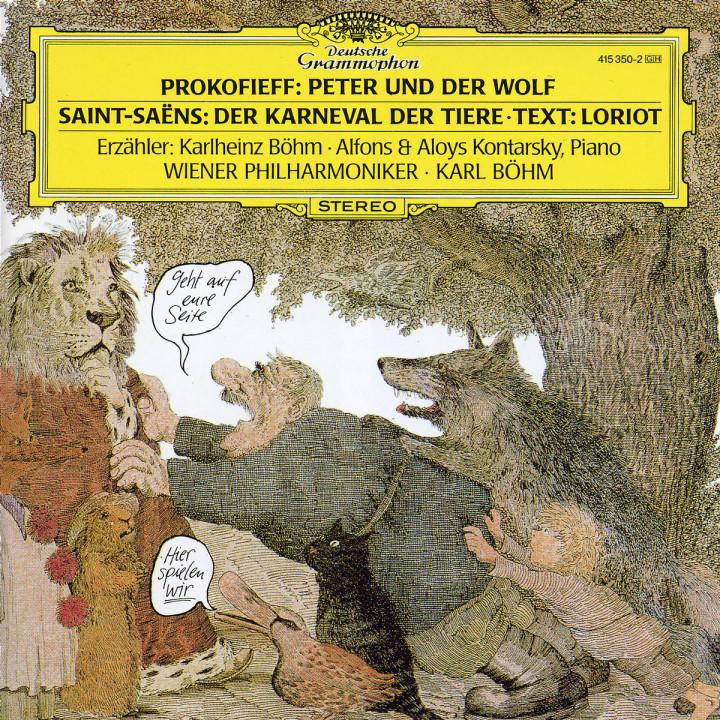 Prokofiev: Peter und der Wolf / Saint-Saëns: Der Karneval der Tiere 0028941535029