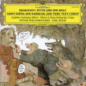 Karlheinz Böhm, Der Karneval der Tiere, Peter und der Wolf op. 67, 00028941535023