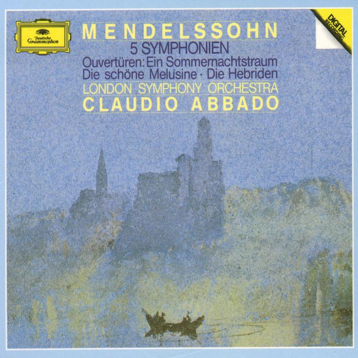5 Sinfonien; Ouvertüren 0028941535328