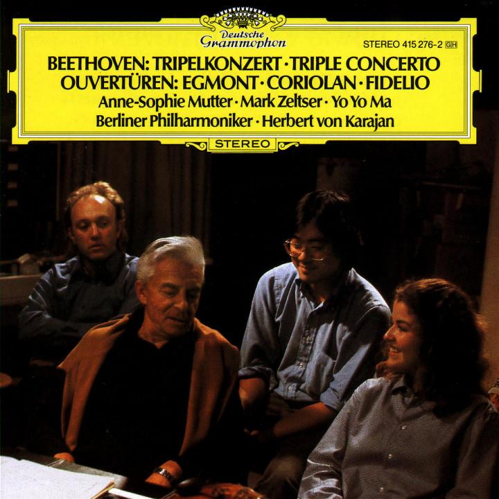 Tripelkonzert; Egmont; Coriolan; Fidelio