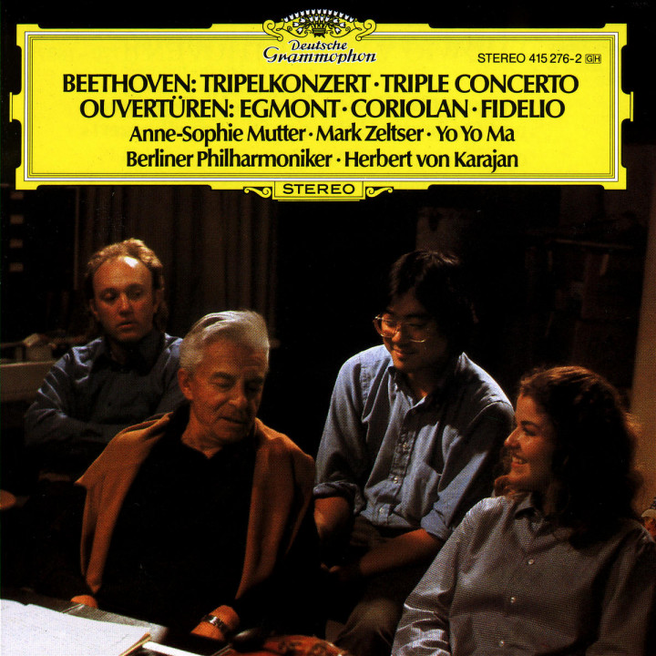 Beethoven: Triple Concerto; Overtures 0028941527626
