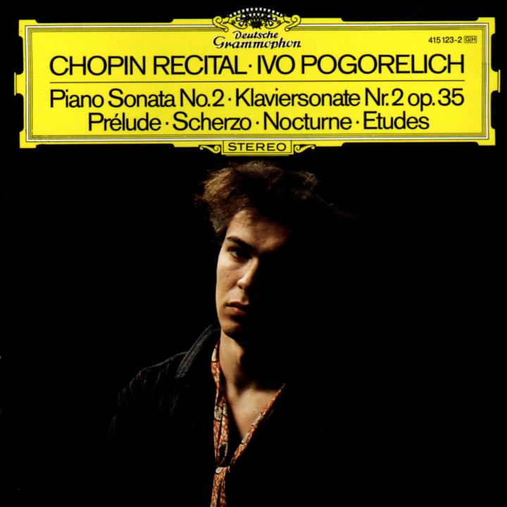 Chopin: Piano Sonata No.2; Prélude; Scherzo; Nocturne; Etudes 0028941512329